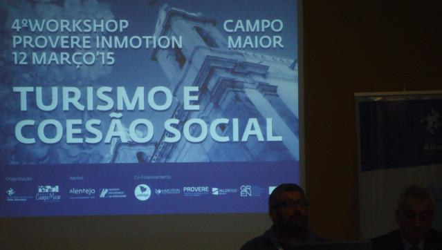 Workshop Provere InMotion – Turismo e Coesão Social